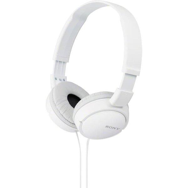 Sony ZX110W OnEar Headphones White