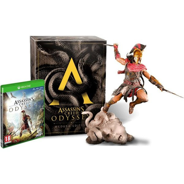 PS4 - Assassin's Creed Odyssey Medusa Edition Box