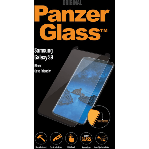 Panzer Glass Screen Protector for Samsung Galaxy S9, Clear