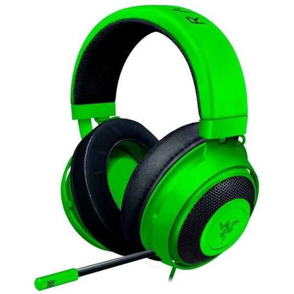 Razer Kraken Wired Gaming Headset Multi-Platform FRML Packaging green