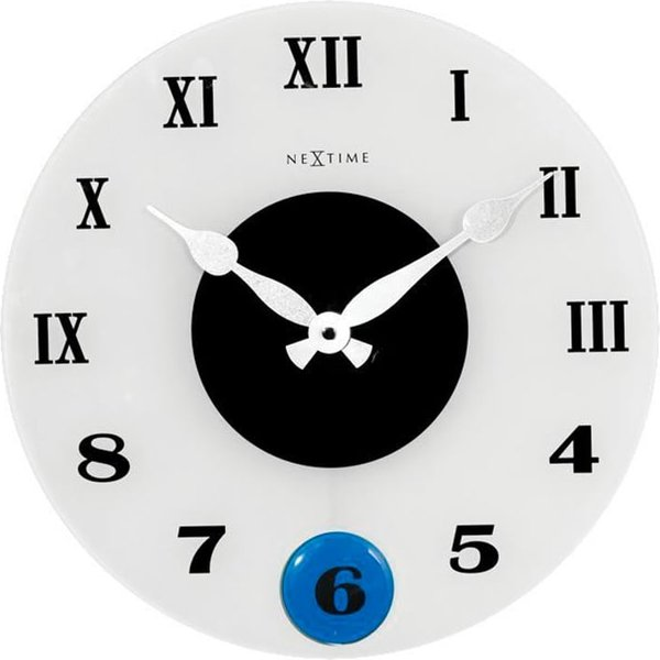NexTime Horloge Murale Milano Couleur Diamètre Horologe murale
