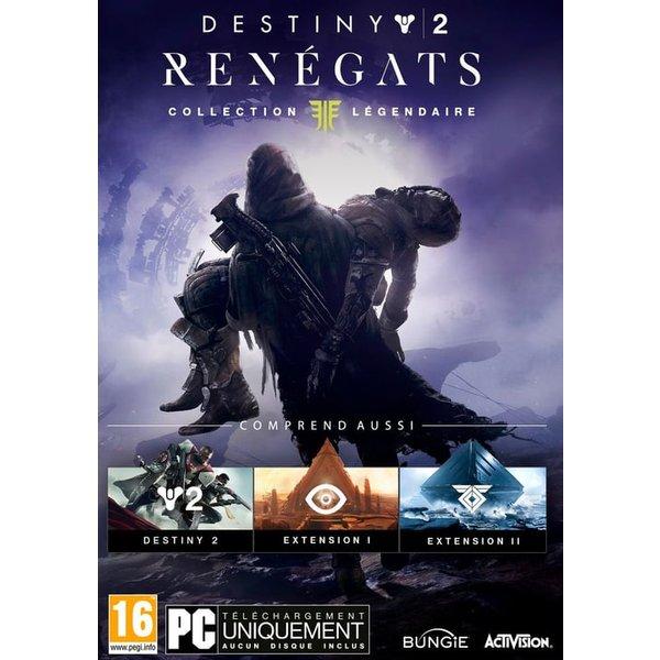 PC - Destiny 2 : Renégats - Collection Légendaire (Code in a Box) /F