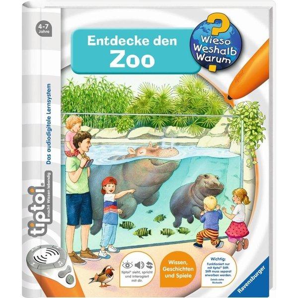 RAVENSBURGER Livre Tiptoi Découvrez le livre du Zoo