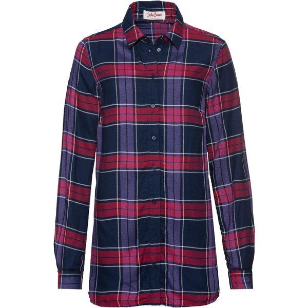 Oversize-Bluse, in weich fließender Qualität, Langarm