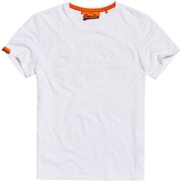 Superdry - Camiseta con logo en relieve Vintage - 1