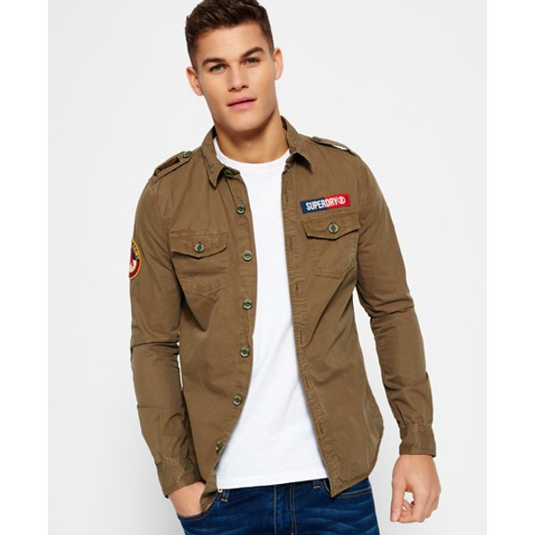 Superdry - Camisa Ultra Light Army Corps - 1