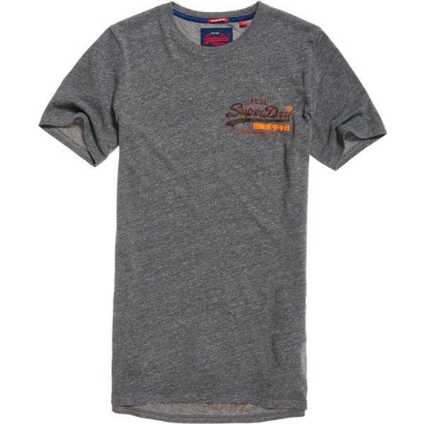 Superdry - Camiseta larga con logo Vintage - 1