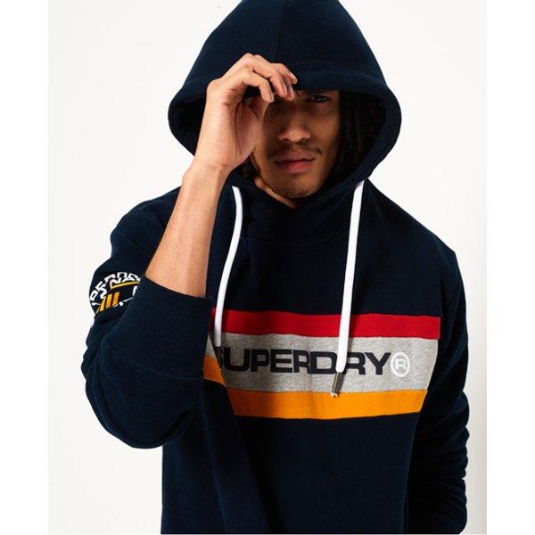 Superdry - Sudadera con capucha y franja en el pecho Trophy - 1