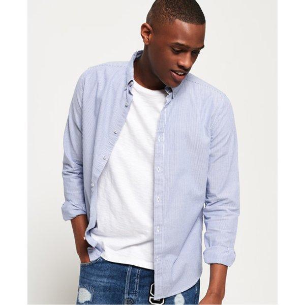 Superdry - Camisa de manga larga con cuello abotonado Premium - 1