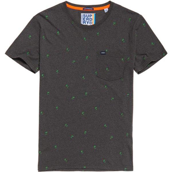 Superdry - Camiseta ligera con estampado integral y bolsillo - 1