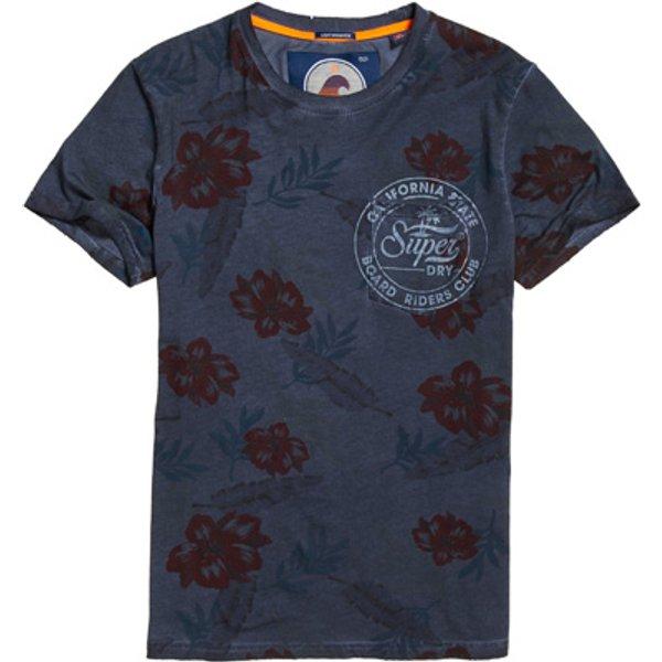 Superdry - Camiseta ligera con bolsillo Board Riders - 1