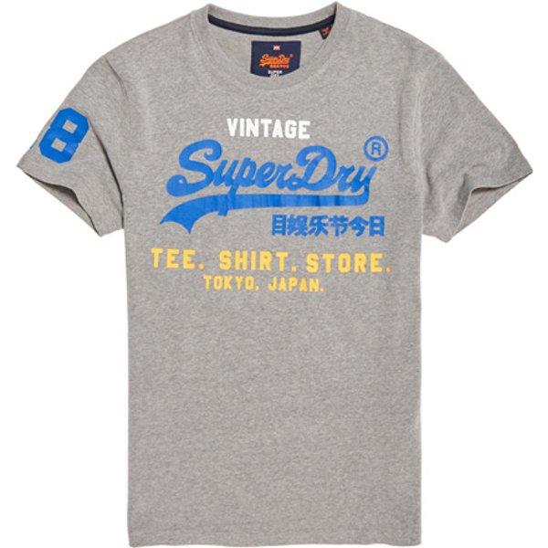 Superdry - Camiseta tricolor Shirt Shop - 1