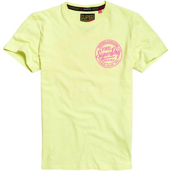 Superdry - Camiseta de corte cuadrado Ticket Type - 1
