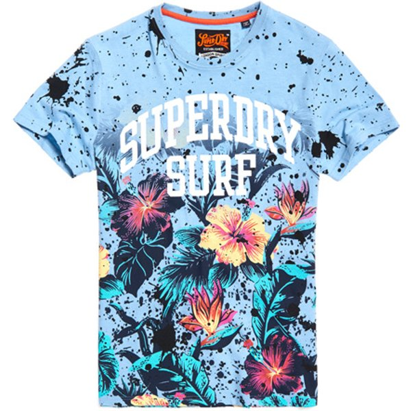 Superdry - Camiseta con estampado integral Echo Beach - 1