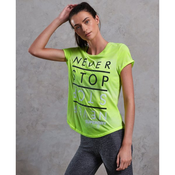 Superdry - Camiseta degradada SD Sport Fitspiration - 1