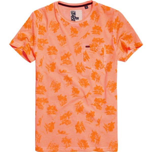 Superdry - Camiseta ligera con estampado integral Whistler - 1