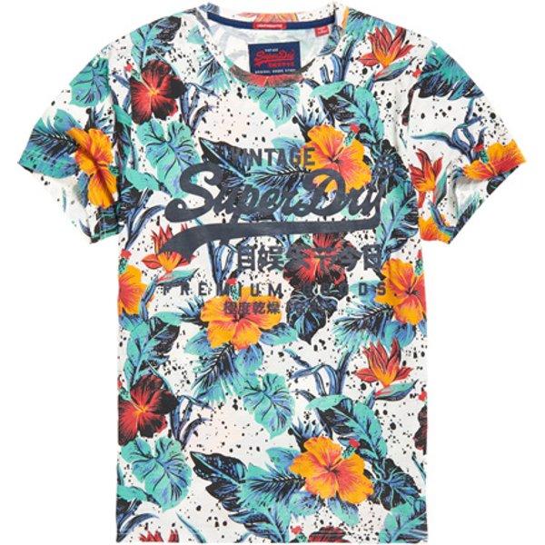 Superdry - Camiseta ligera Premium Goods Hibiscus - 1