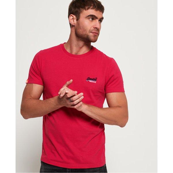 Superdry - Camiseta con logo vintage bordado de la colección Orange Label - 1