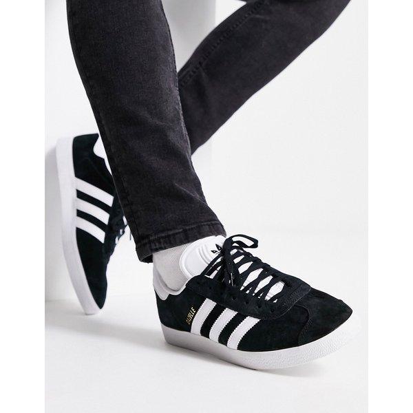 adidas Originals Gazelle Trainer - Black - Size - 9