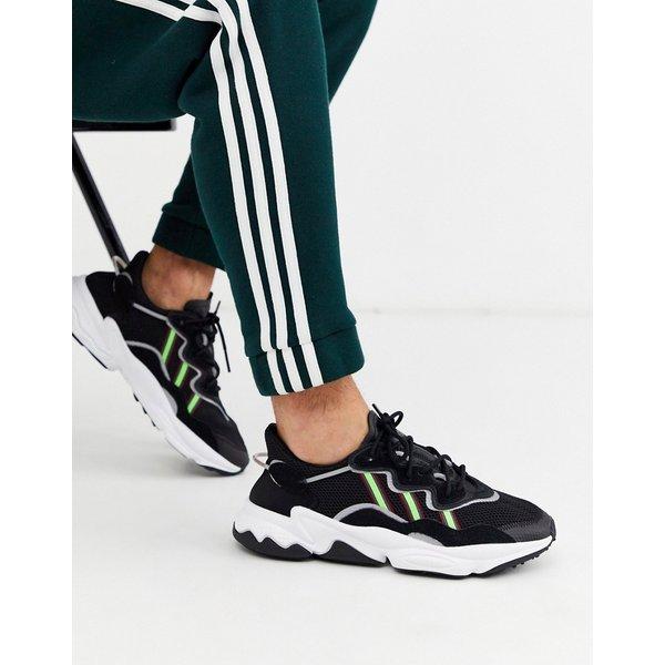 adidas Originals – Ozweego – Schwarze Sneaker