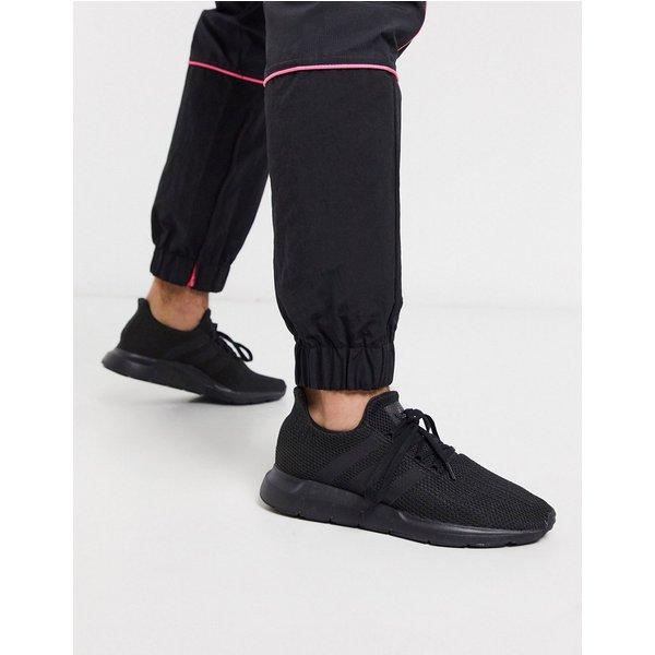 adidas originals swift run trainers in triple black