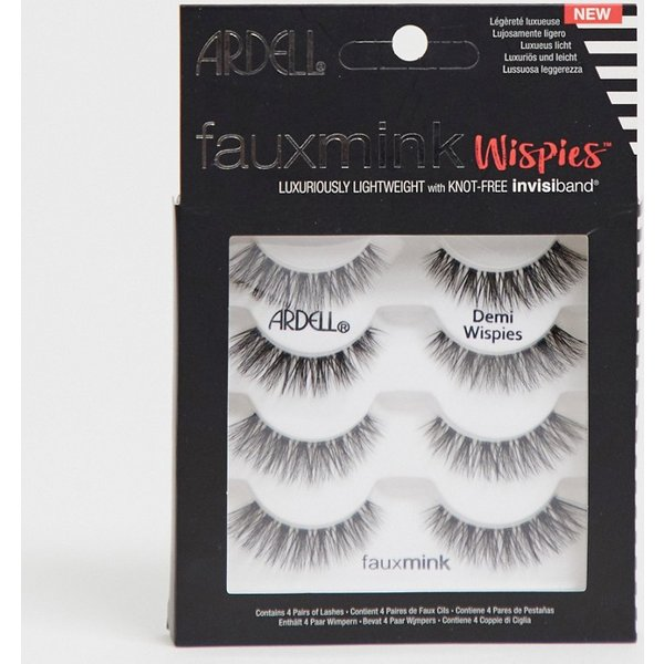 Ardell Multipack Faux Mink Demi Wispies Pack Of 4