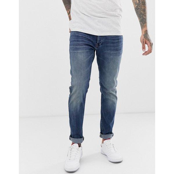 G-Star 3301 Slim Jeans (8968-2965) medium blue aged