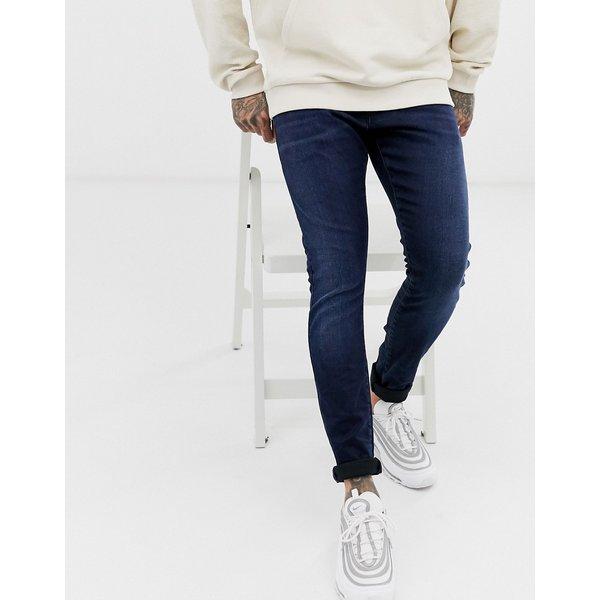 G-Star Revend skinny fit jeans in indigo navy - Navy