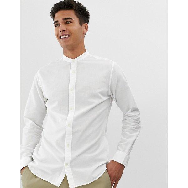 Jack & Jones Mandarinkragen Hemd
