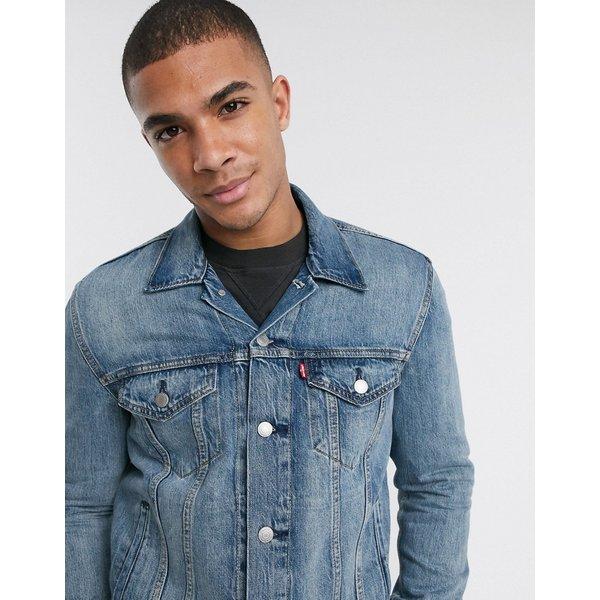 Levis THE TRUCKER JACKET men's Denim jacket in Blue