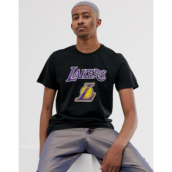 New Era - NBA Los Angeles Lakers - T-shirt - Noir