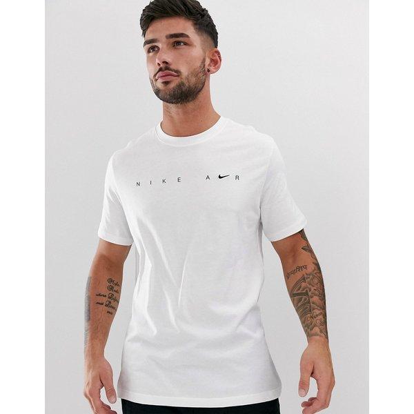 Nike M NSW SS TEE FTWR 1 men's T shirt in White