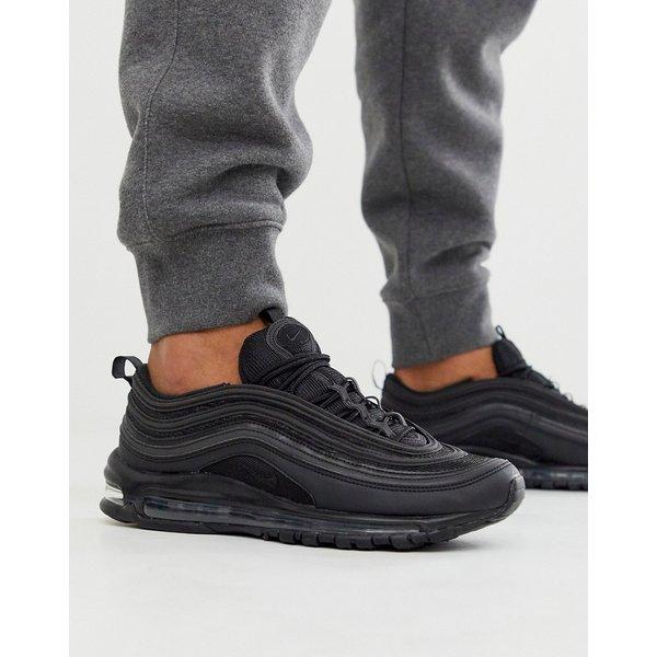 Nike Air Max 97 - Herren Low Schuhe black Gr. 44,5