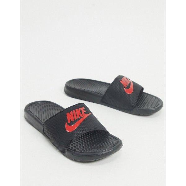 Nike Benassi JDI Sliders Black