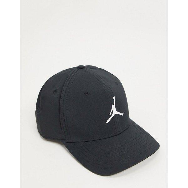 Nike Jordan CL99 snapback cap in black/white