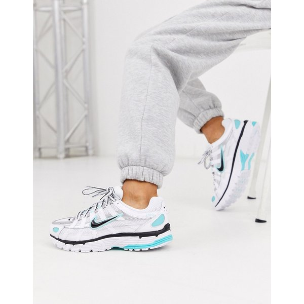 Nike P-6000 Schuh - Weiß