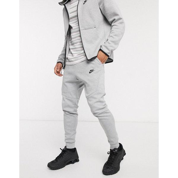 Nike – Tech – Graue Fleece-Jogginghose