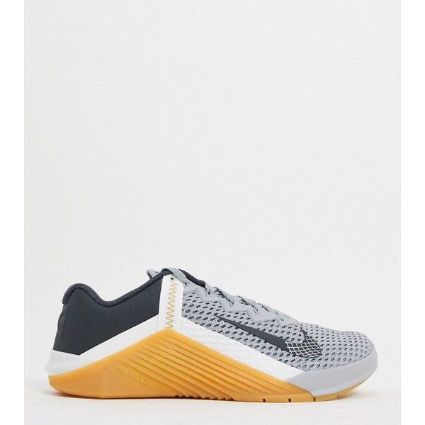 Chaussure de training Nike Metcon 6 pour Femme - Gris