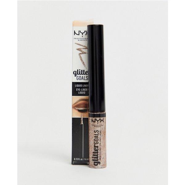 NYX Professional Makeup Glitter Goals Liquid Eyeliner (Various Shades) - Crystal Ball