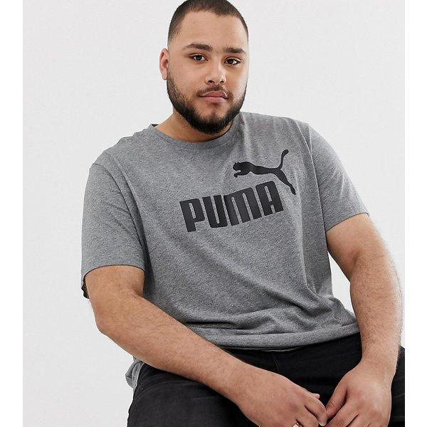 Puma Plus Essentials men's T shirt in multicolour