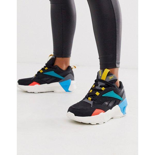 Reebok Women's Aztrek Double Mix Pops Low-Top Sneakers