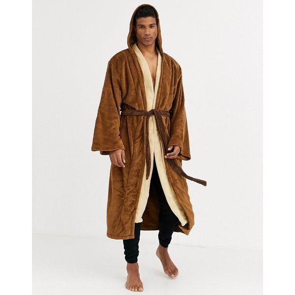 Star Wars - Jedi - Bathrobe - brown-beige (90858)
