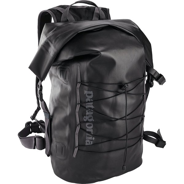 Patagonia Stormfront Roll Top Backpack schwarz