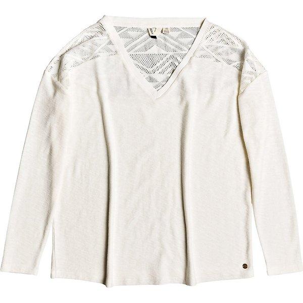 Roxy You Gotta Be Long Sleeve T-Shirt snow white