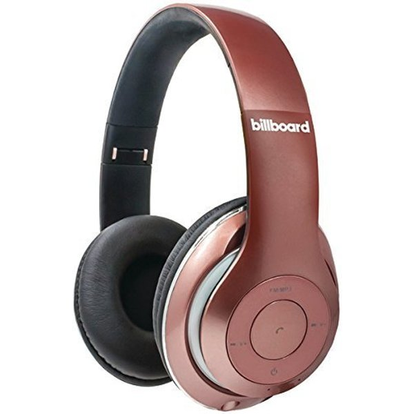 5. Billboard Wireless Bluetooth Headphones Rose Gold: £35.75, Bonanza (Global)