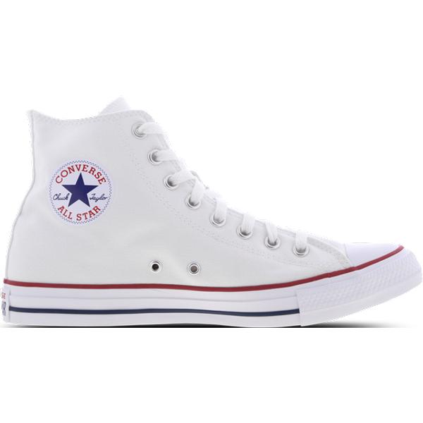 Converse - Chuck Taylor All Star - Baskets montantes en cuir - Blanc