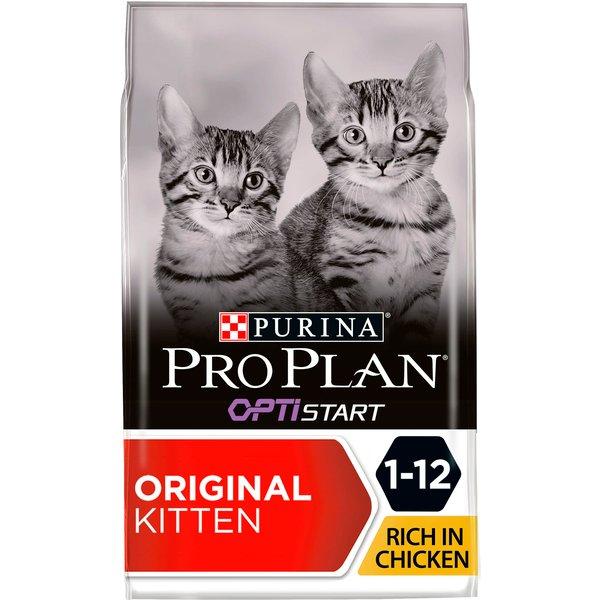 ProPlan Croquettes au poulet & riz pour chat junior