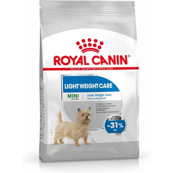 Croquettes Royal Canin Mini Light Weight Care Sac 8 kg