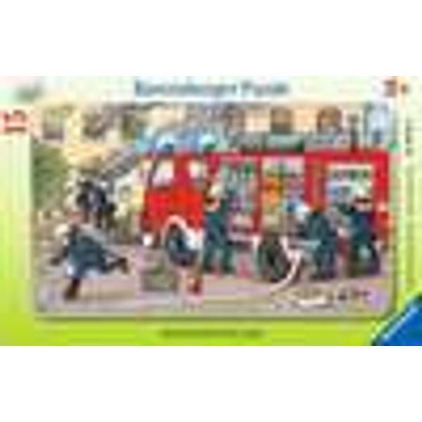 Frame Puzzle - Firemen