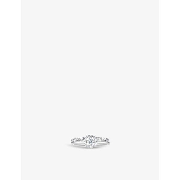 43affe0b536ea5 DE BEERS   My First De Beers Aura Solitaire platinum and diamond ring    Goxip